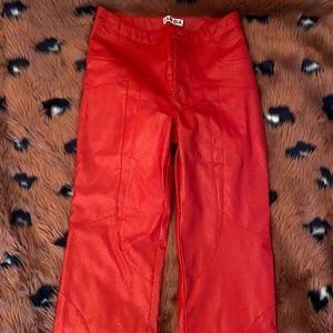 I. AM. GIA York Pants Red